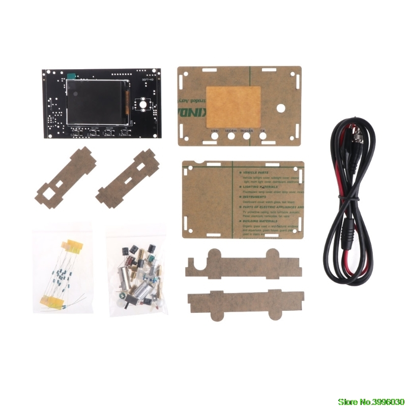 DSO328 LCD Oscilloscope DIY Kit Tester 1Msps 200KHz Bandwidth Replace DSO138/311 цена