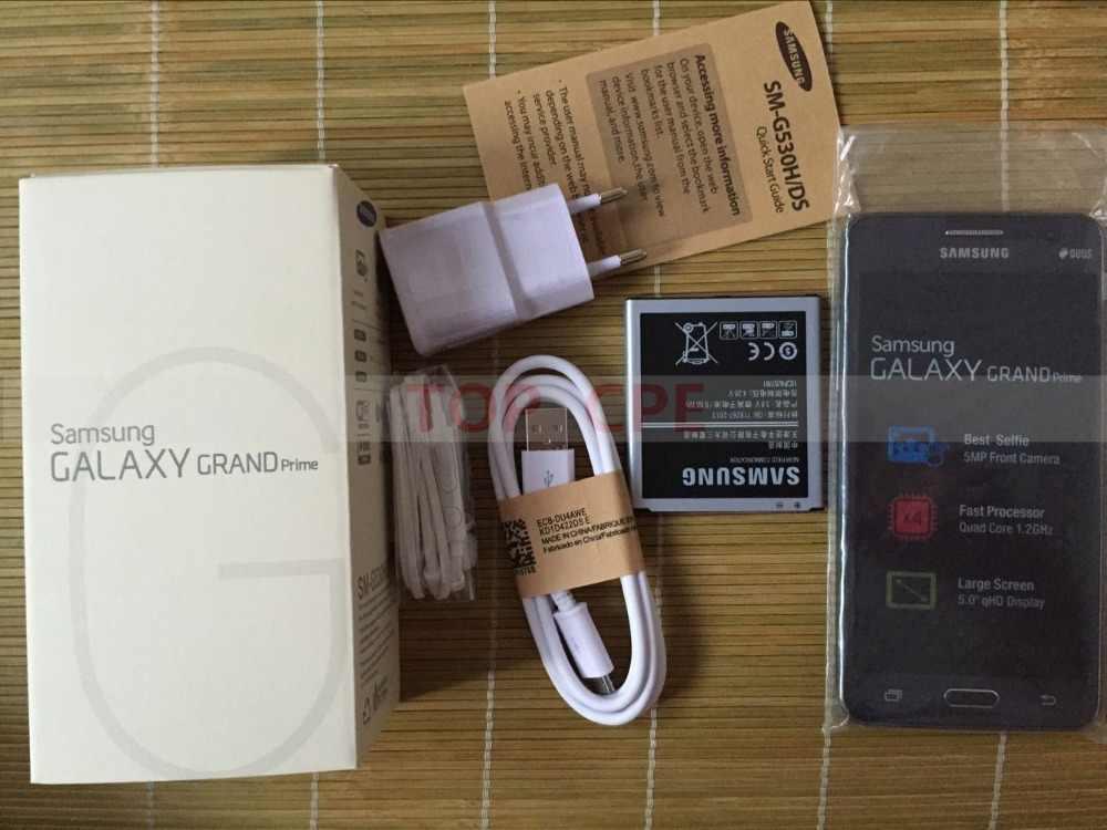 Refurbished Unlocked Original Samsung Galaxy Grand Prime G530 G530H Cell  Phone Ouad Core Dual Sim 1GB RAM 5 0 Inch Touch Screen