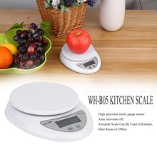 2018 5000g/1g 5kg Digital Food Diet Postal scales Scale balance weighting LED electronic