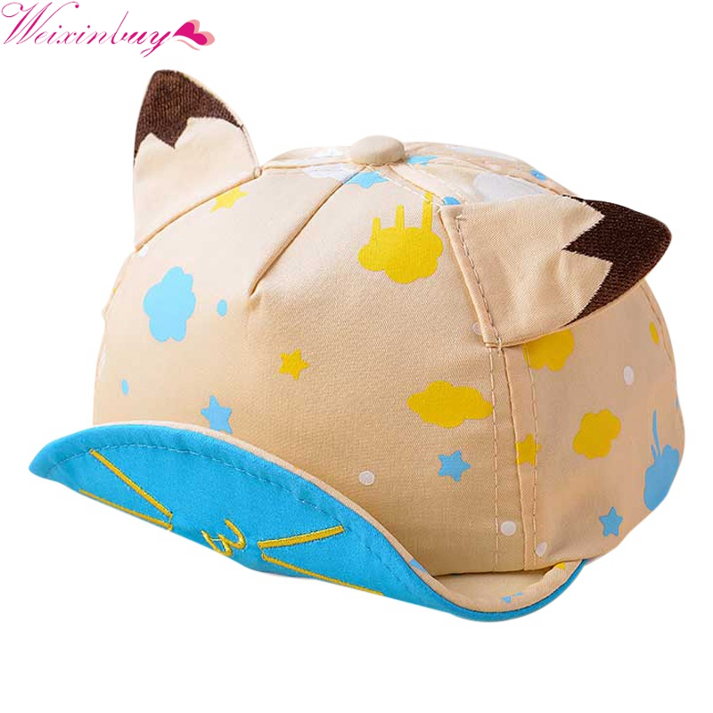 Summer Holiday Printed Cartoon Hat Princess Pot Cotton Newborn Babyboys  Babygril Cap Sun Hat Kids Sun Hat-in Hats   Caps from Mother   Kids on ... 3687585c8240