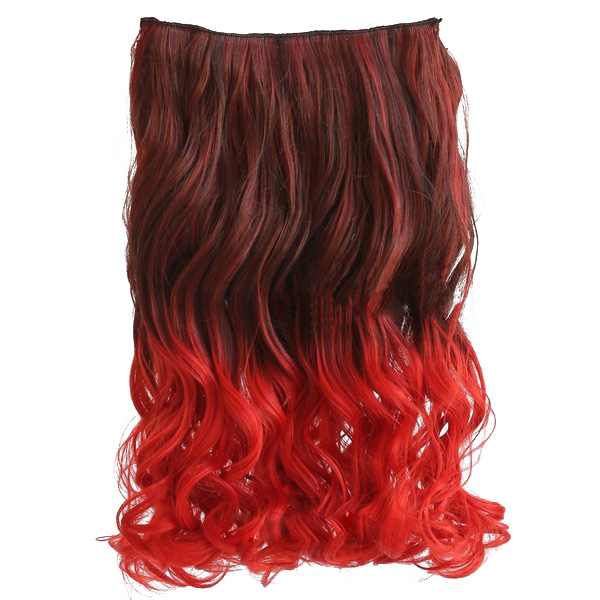 """20"""" two colors mixed dip dye color"""