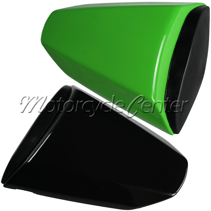 Hot Sale ABS Plastic Motorcycle Rear Seat Cover Cowl For Kawasaki Ninja ZX10R ZX10 R ZX10-R 2008-2010 Green Black hot sale hot sale car seat belts certificate of design patent seat belt for pregnant women care belly belt drive maternity saf