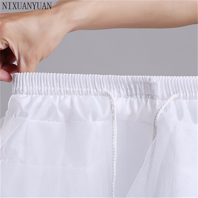New Children Petticoats for Formal/Flower Girl Dress 3 Layers Hoopless Short Crinoline Little Girls/Kids/Child Underskirt 4