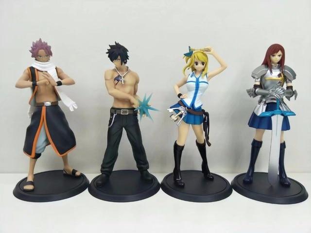 2 Pcs Set Fairy Tail Action Figure