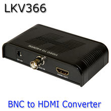 New BNC to HDMI Converter HD 1080P,Analog BNC Video to Digital HDMI Video Signal LKV366