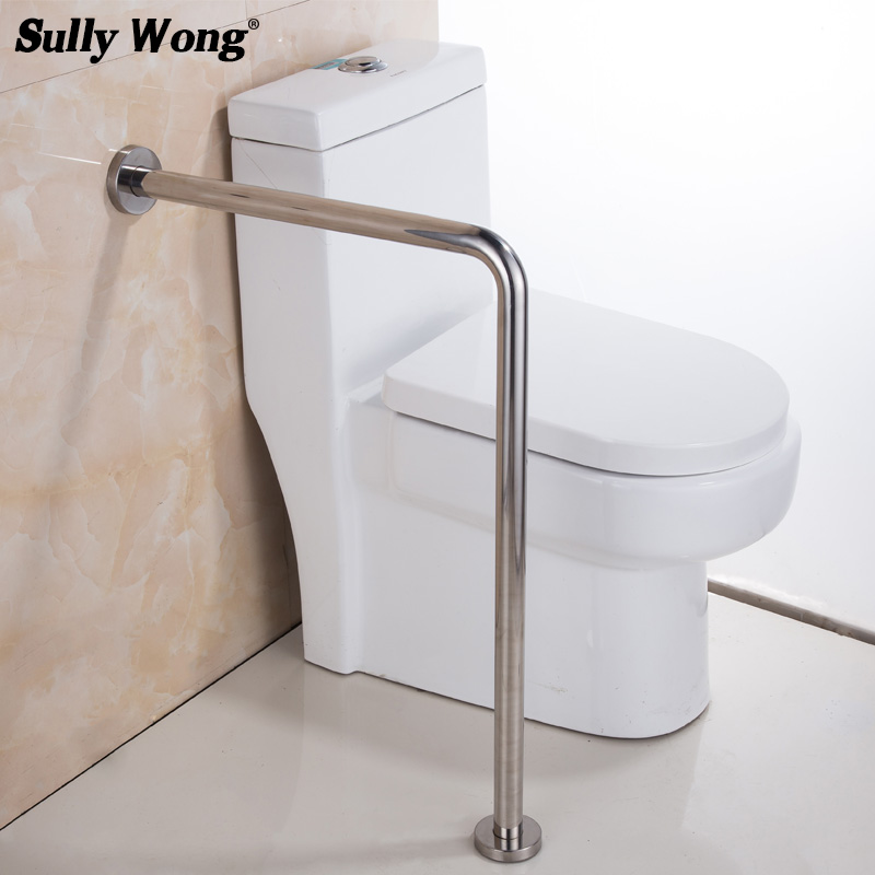 Sully House 304 Stainless Steel Bathroom Toilet Safety Rails Disabled and old people Barrier free handrail