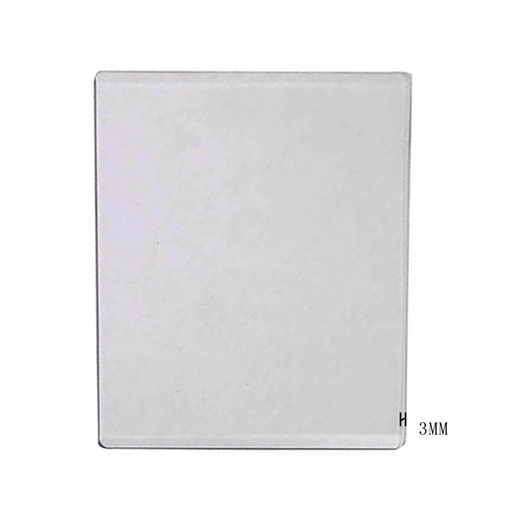 Сменная пластина для тиснения, 3 мм, для скрапбукинга, 15x19,5 см