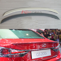 For Lexus GS series GS250 GS300H GS350 GS450h 2012 2017 Rear Wing Spoiler, Trunk Boot Wings Spoilers ABS Grey primer