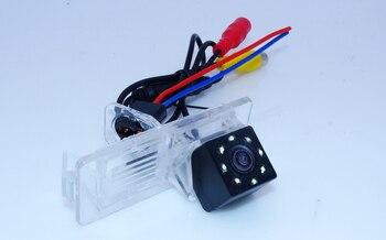 Kamera cofania samochodu drutu odporny na wstrząsy + szklany obiektyw materiał + 8 led dla Renault Fluence/Dacia Duster/Megane 3/ dla Nissan Terrano