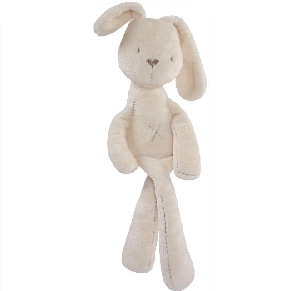 British Aristocrat Smooth Obedient Rabbit juguetes bebe Sleep Doll appease Baby Plush Toys