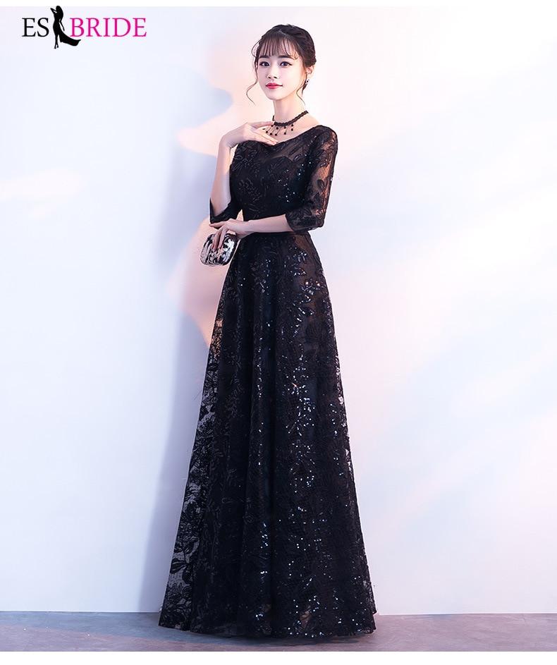 Full length long sleeve wedding guest dresses