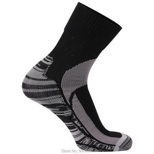 Image 5 - 1 пара ветрозащитных тепловых носков RANDY SUN, не водонепроницаемые спортивные носки для активного отдыха, альпинизма, велоспорта, антибактериальные