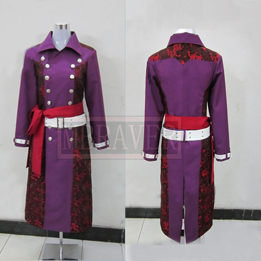 Hakuouki Kazama Chikage Cosplay halloween cosume Custom made Any Size