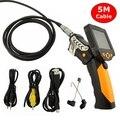 "NTS200 3.5"" LCD Digital Borescope USB Endoscope 8.2mm 5M Wire Probe Snake Inspection Video Zoom Rotate Camera Waterproof 720P HD"