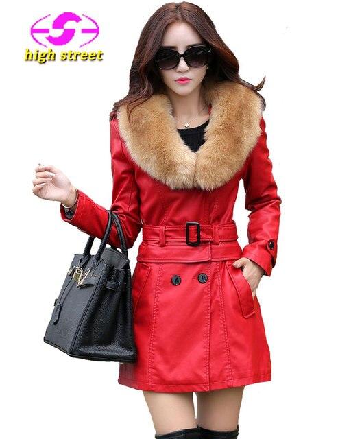 f07fae887 Winter Jacket Women Faux Fur New Doudoune Femme Fourrure Plus Size Thick  Dual Use Trench Coat