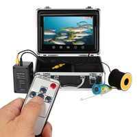 Fish Finder Fishing Camera Touch Button 9 LCD Monitor 12PCS LED Lamp 150 Degree Wide Angle 1000TVL Waterproof Underwater