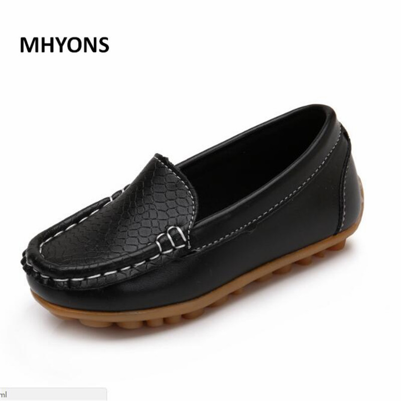 MHYONS Children Boy's Girl Baby Shoes Slip-on Loafers Flats Spring Autumn Fashion Boys Sneakers for Toddler/Little Kid/Big Kid