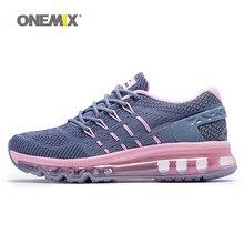 Onemix donne scarpe da corsa scarpa unica disegno lingua respirabili della  maglia di sport scarpe da 3e47c9129db