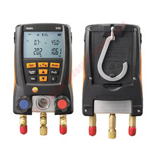 Digital Manifold Pressure Gauge Refrigeration systems and Pumps Vacuum Pressure Manifold Tester HVAC Temperature Tester Testo549 value vdg 1 new accurate digital manifold gauge for refrigerants charing pressure and temperature measurement
