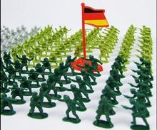 200pcs/set World war 1:72 soldiers military toy Nostalgic plastic action figure mini model figure toy for boy gift Children