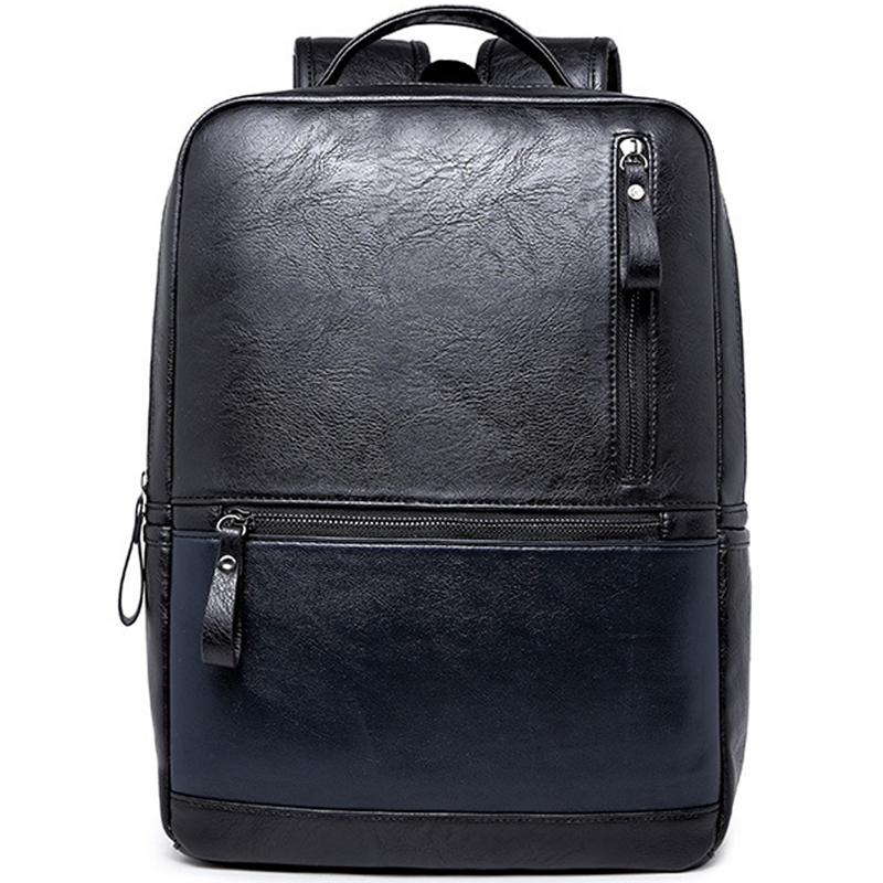 LEVELIVE Brand Men's Leather Backpack Men School Bags for Teenager Casual Travel Shoulder Bag Laptop Bag Male Waterproof Bagpack christina дневной крем абсолютная защита spf 20 bio phyto ultimate defense day cream 75 мл дневной крем абсолютная защита spf 20 bio phyto ultimate defense day cream 75 мл 75 мл