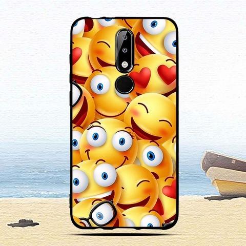 Luxury Silicone Case for Nokia 5.1 Plus/X5 Cartoon Protective cases for nokia5.1 plus mobile phone covers for Nokia 5.1Plus capa Multan