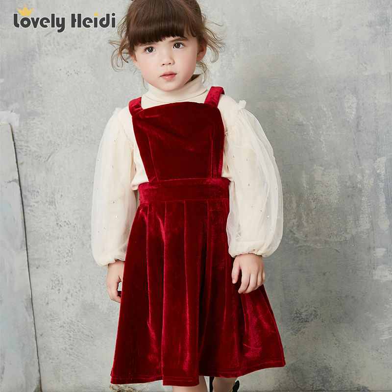 ФОТО  Girls Dress Winter 2016 Girl Children Clothing Brand Clothes Kids Dress for casual Holiday Party wedding Toddler Autumn