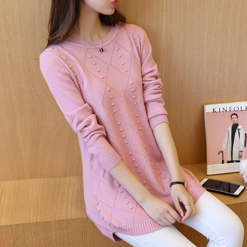Cheap Wholesale 2018 New Autumn Winter Hot Selling Women's Fashion Casual Warm Nice Sweater G347