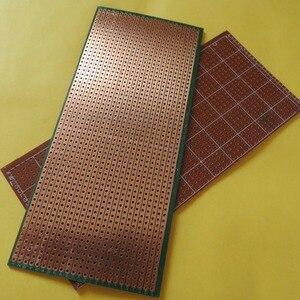new 5pcs/lot Stripboard Veroboard vero prototype print Circuit Board 6.5x14.4cm 2.54mm breadboard platine lochraster pcb(China)