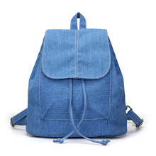 Купить с кэшбэком 2019 New Female Women Canvas Backpack School Lady Backpack Travel Bags Mochila Student Girls Knapsack Laptop Rucksack Infantil