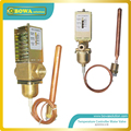 3/4G temperature controlled water valves control hot water flow rate of heat pump to keep water temperature  as we design