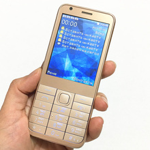2017 Promotion 2.8″ Quad Band Card 4 SIM Card cell phone Bluetooth MP3 MP4 FM dual Camera Cheap mobile phone Russian Keyboard