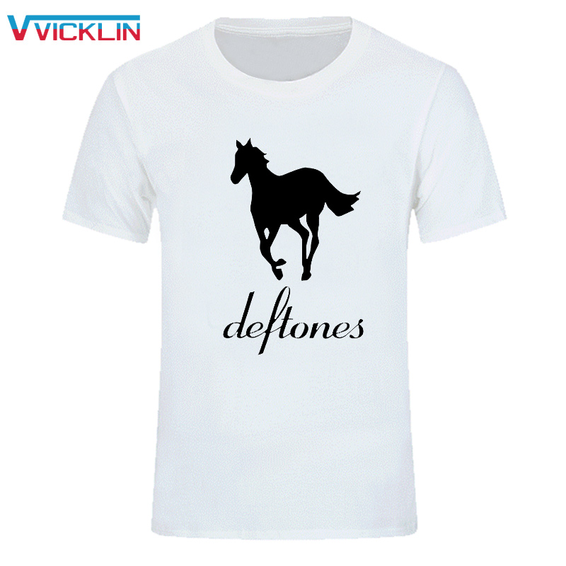 Estate moda Stile Dexter Deftones Uomo T-Shirt Cotton O Neck Maniche corte Camicia uomo Custom Tees