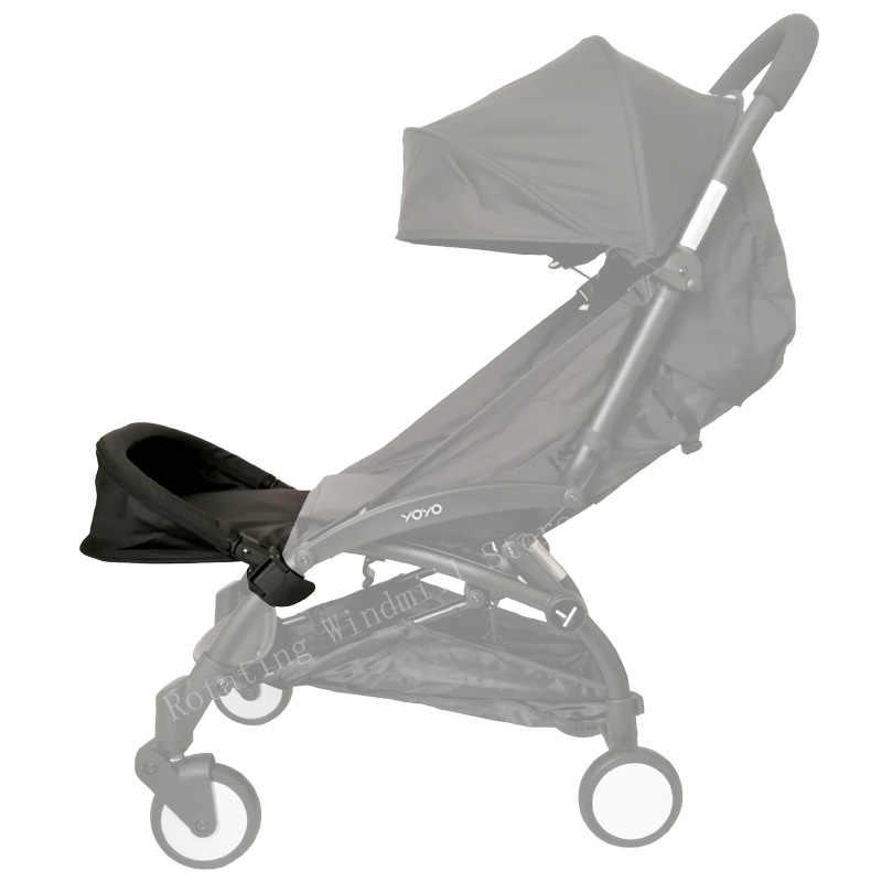 32 ซม.ขยายปลายเตียงรถเข็นเด็กทารกอุปกรณ์เสริมสำหรับ Babyyoya Babyzen Yoyo ยาย Babytime Babyyoya รถเข็นเด็กปรับนอนราบได้ Rest เท้า