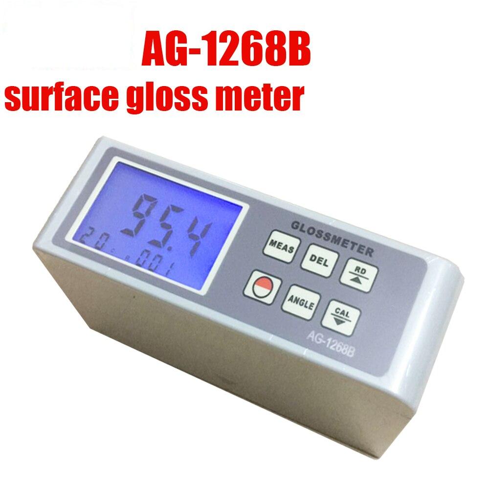 AG-1268B glossmeter 20 60 85 Digital Gloss Meter ,Glossmeter Multi-angle test paint gloss meter surface gloss test spectrometer