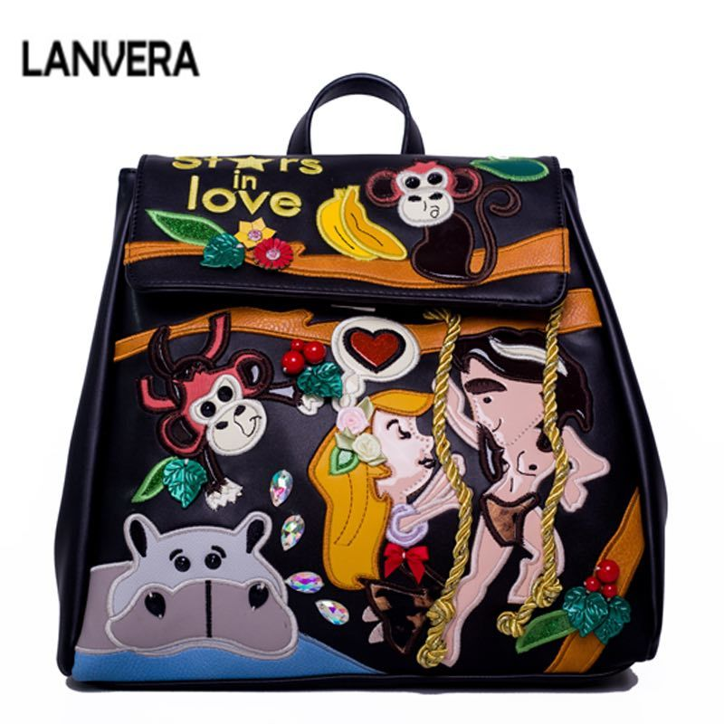 Leather Women Gold Hardware Messenger Bags Hand Painted Graffiti Crossbody Bags for Women 2018 Shoulder Totes Bags louis gg bag women top handle bags yellow real genuine leather hand bags hand painted graffiti totes with hardware sac a main messenger bag y