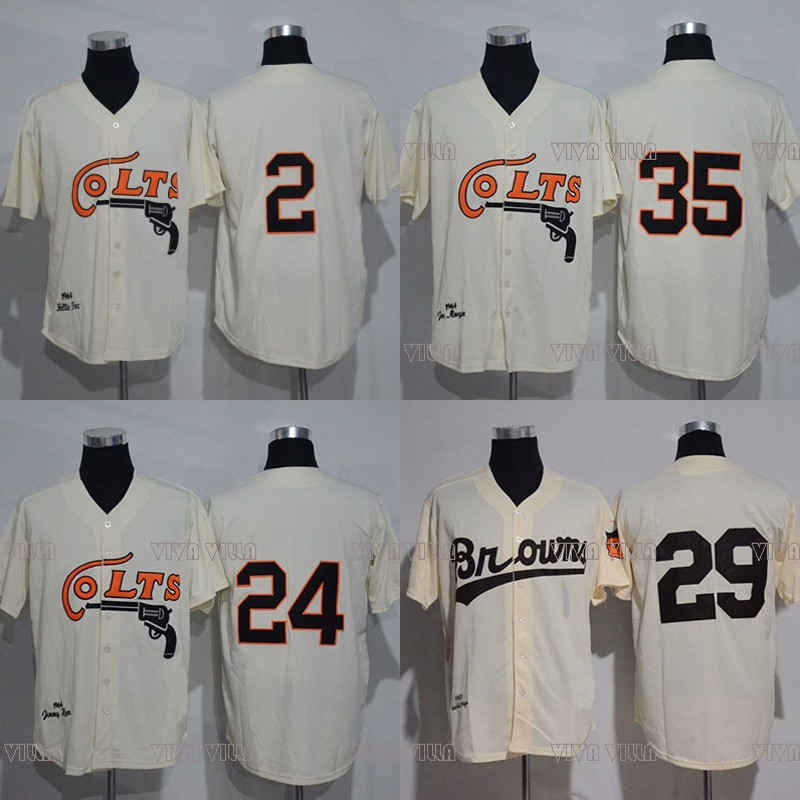 Baseball Jersey Colts 2 Fox