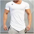 In Hot Sale Special Offer No Print 2016 Engineers Stringer T-shirt Man Body Bodybuilding And Fitness Sportswear Men T shirt