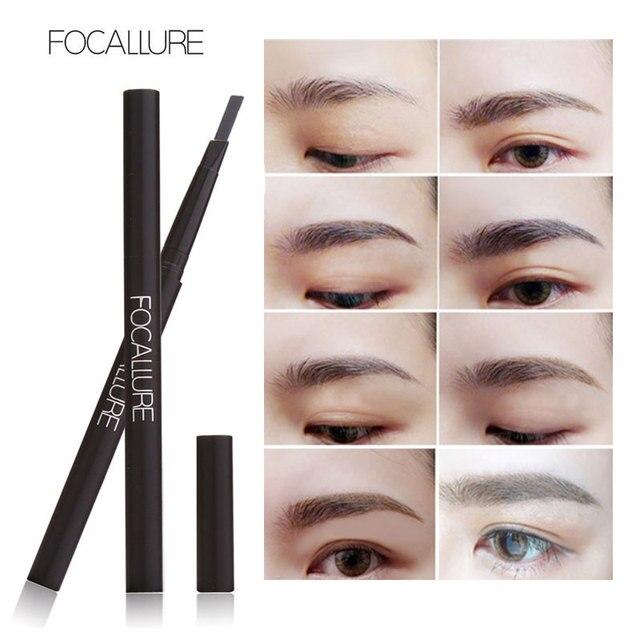 Fabuleux FOCALLURE Nouveau Étanche 3 Couleurs Sourcils Eye Liner Sourcil  LQ32