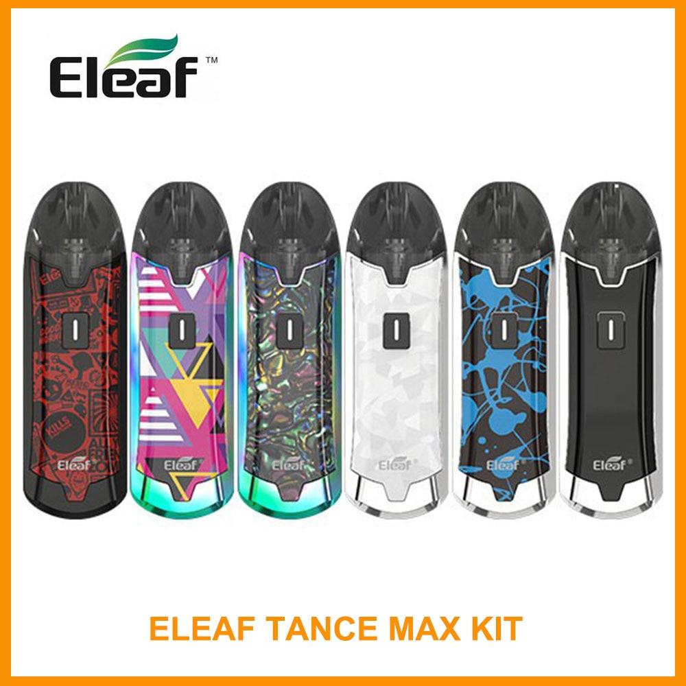 ES/FR Original Eleaf Tance Max Kit Built In1100mAh 4ml Capacity 15W GS Air M 0.6ohm/GS Air S 1.6ohm Head Electronic Cigarette