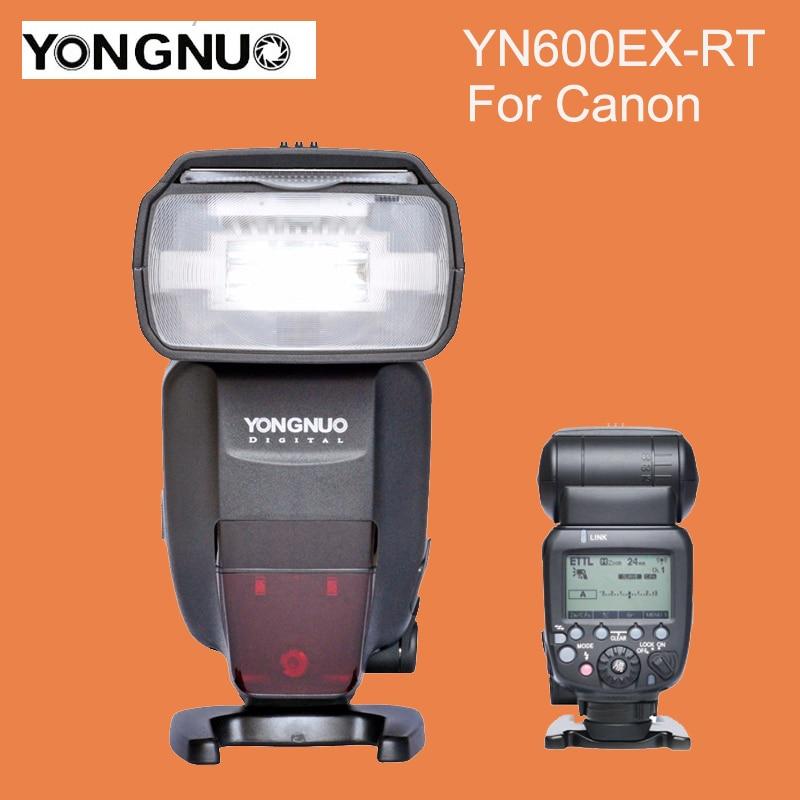 YONGNUO YN600EX-RT 2.4G Wireless HSS 1/8000s Master Flash Speedlite for Canon Camera as 600EX-RT YN600EX RT вспышка для фотокамеры yongnuo speedlite yn600ex rt canon 600ex rt 2 4g hss 1 8000s speedlite yn600ex rt