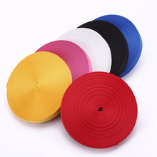купить 20mm*50yard red blue nylon woven webbing band for bags Sewing Webbing tape clothing accessories Wide Strap Nylon Strapping Bags по цене 1384.04 рублей