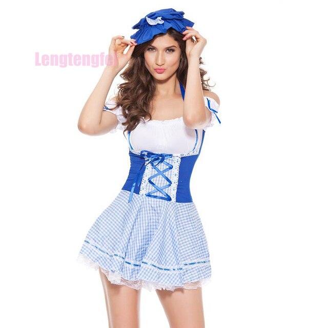 Heißer Verkauf 2017 Frauen Sexy Late Nite Französisch Maid Kostüm ...