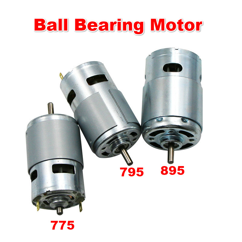 DC12V Motor 775/795/895 Double Ball Bearing 6000-12000RPM Large Torque High Power Low Noise Hot Sale Electronic Component MotorDC12V Motor 775/795/895 Double Ball Bearing 6000-12000RPM Large Torque High Power Low Noise Hot Sale Electronic Component Motor