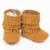 Nueva Mano de Cuero Genuino bebé Fringe boots Primeros Caminante cordones mocasines bebé girls boy Zapatos 12 colores envío gratis