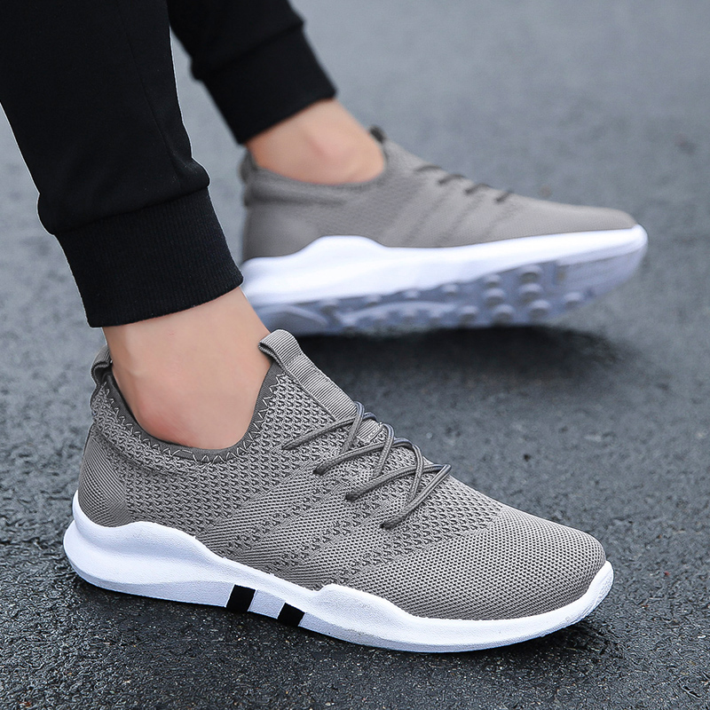 Primavera Verano Popular para hombres ligeros al aire libre deporte zapatillas para correr parejas transpirable suave atletismo zapatillas cómodas