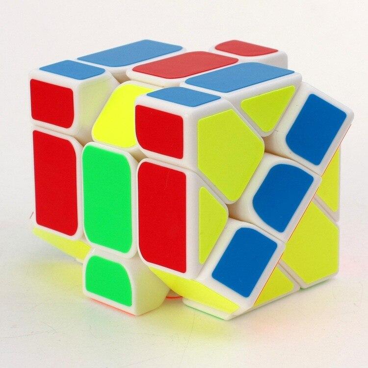 Neueste Qiyi 3*3*3 Geschwindigkeit Magic Cube Reis Knödel Zauberwürfel Puzzle Regenbogen Geschenke Pädagogisches Spielzeug Für Kinder Grade Produkte Nach QualitäT Zauberwürfel Rätsel & Spiele