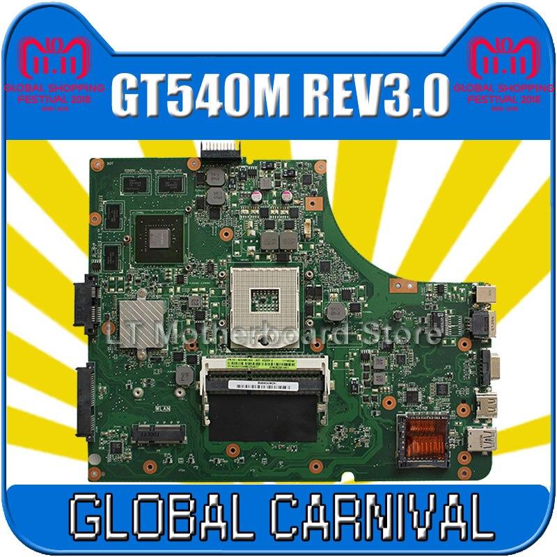 K53SV REV: 3,1 3,0 8 шт. видео памяти GT540M 2 ГБ 2 DDR3 слот для Asus K53SV A53S K53S X53S P53S K53SC K53SJ K53SM