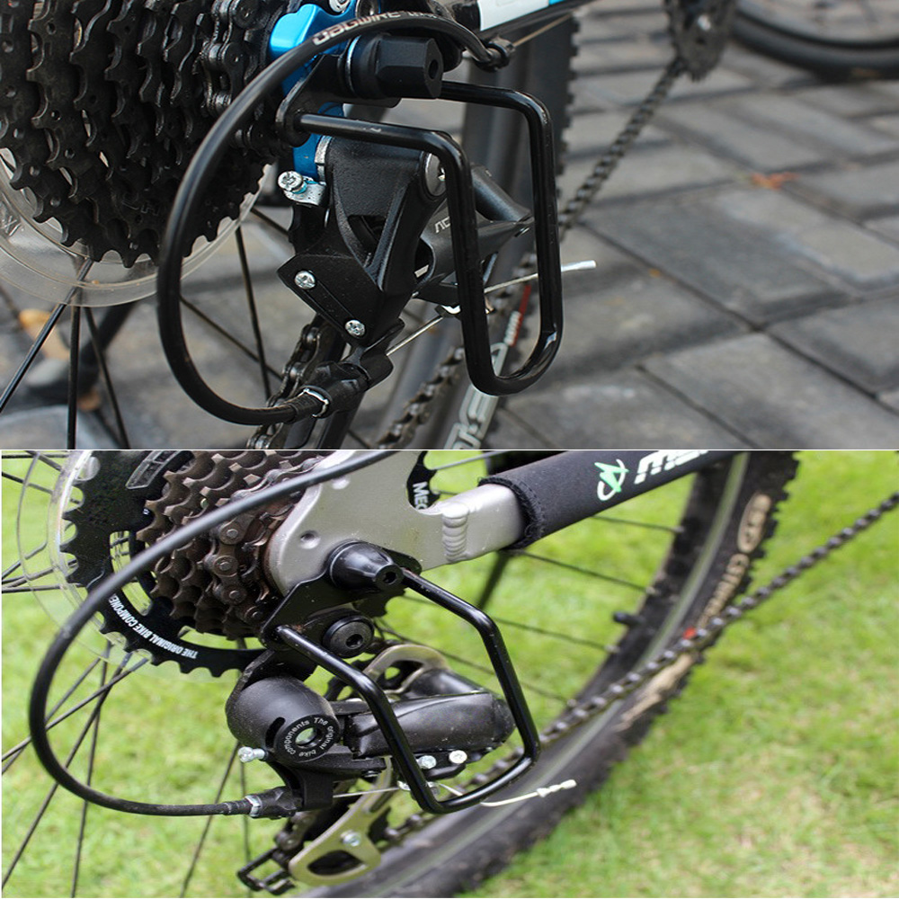 Mountain Bike Bicycle Rear Gear Derailleur Protector Guard Bike Accessory