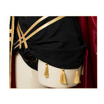 ROLECOS Game FGO Fate Grand Order Cosplay Costume Ereshkigal Costume Sexy Underwear with Cloak for Women Cosplay Costume Cloak